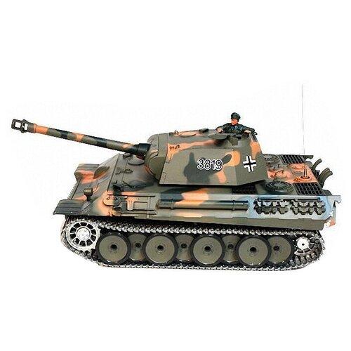 Танк Heng Long Panther (3819-1PRO) 1:16 камуфляж
