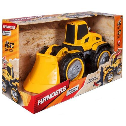 машинки и мотоциклы handers бигфут х2 кантри Грейдер Handers HAC1607-108, 36 см, желтый