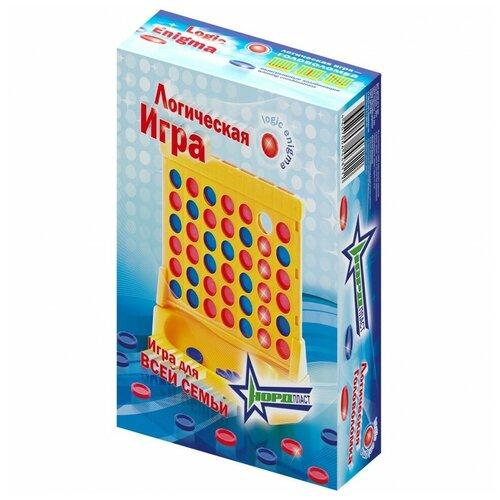 Настольная игра Нордпласт Логическая игра нордпласт игра логическая собирашки смешарики крош 834
