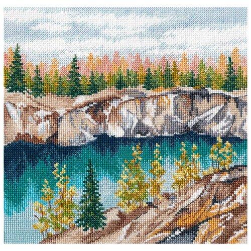 Купить Овен Набор для вышивания Мраморный каньон Рускеала 20 х 20 см (1306), Наборы для вышивания