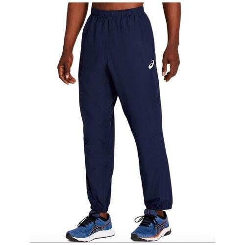 брюки мужские asics 2031a968 400 tailored pant 2031a968400 3 размер 50 цвет черный Брюки мужские спортивные ASICS 2011A038 402 SILVER WOVEN PANT цвет синий размер S