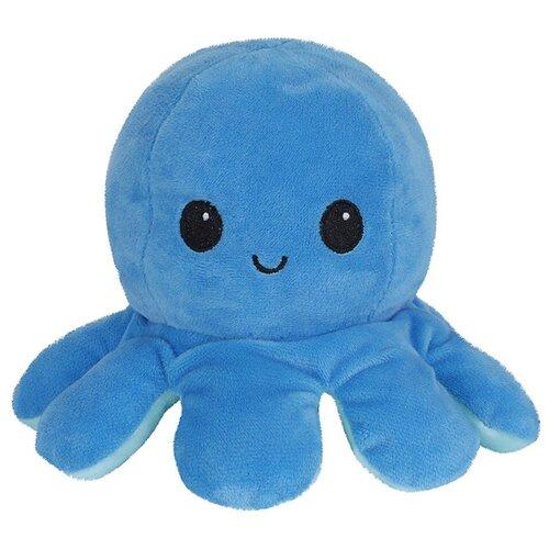 Мягкая игрушка 20см Детская игрушка в подарок / Плюшевая игрушка для детей Осьминог (Голубой)