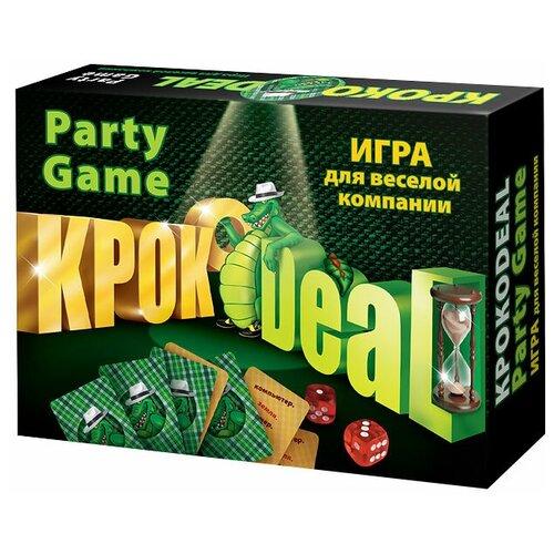 Настольная игра Нескучные игры Кроко deal настольная игра нескучные игры мафия люкс 7090 50