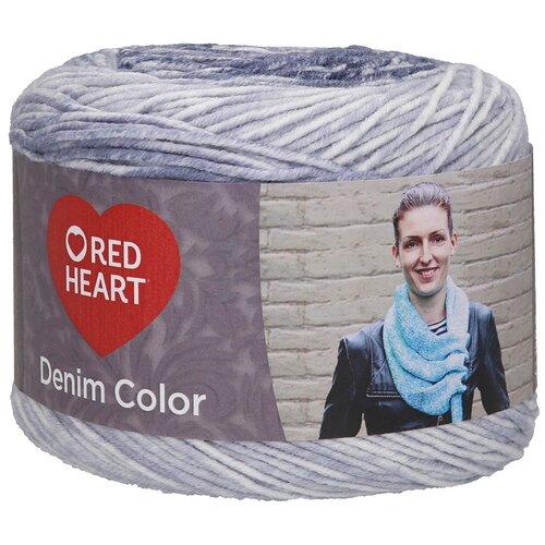 Купить Пряжа для вязания Red Heart 'Denim color' 150гр 340м (100% акрил) (00007 ночное небо), 3 мотка