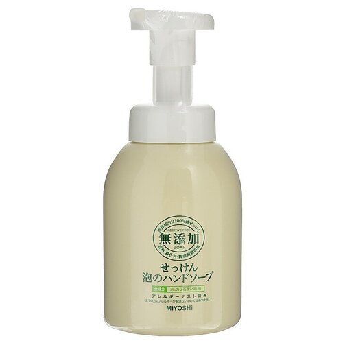 Пенное мыло Miyoshi на основе натуральных компонентов, 250 мл недорого