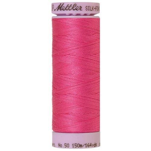 Купить Нить для машинного квилтинга SILK-FINISH COTTON 50, 150 м 100% хлопок 1423 Hot Pink ( 9105-1423 ), AMANN GROUP Mettler, Нитки