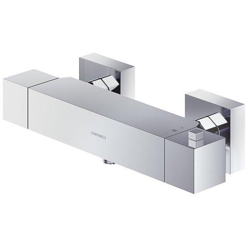Смеситель для душа Omnires Fresh FR7146 однорычажный с термостатом хром смеситель для ванны с подключением душа omnires fresh fr7136 однорычажный с термостатом встраиваемый хром