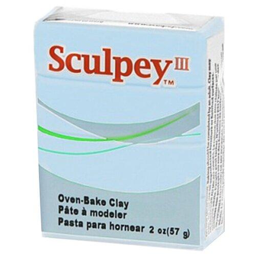 Купить Полимерная глина Sculpey III 1144 (небесно-голубой), 57г, Глина