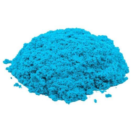 Кинетический песок Космический песок Светящийся в темноте, голубой, 3 кг, пластиковый контейнер