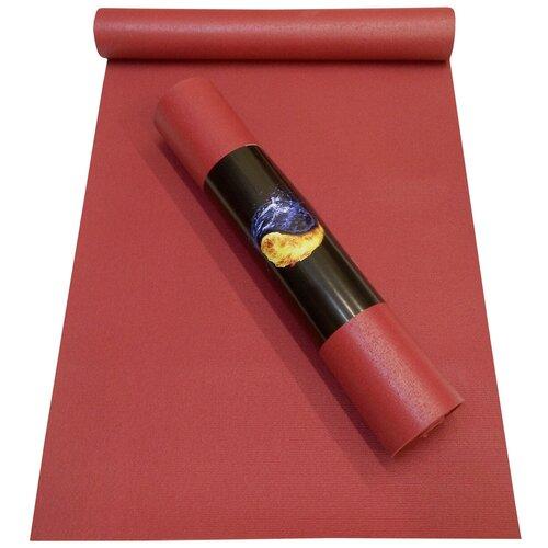 Коврик RamaYoga Yin-Yang Studio, 150х60х0.3 см бордовый