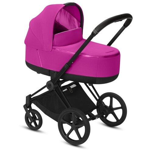 Фото - Универсальная коляска Cybex Priam III (2 в 1), fancy pink/matte black, цвет шасси: черный универсальная коляска indigo charlotte duo 2 в 1 ch31 цвет шасси черный