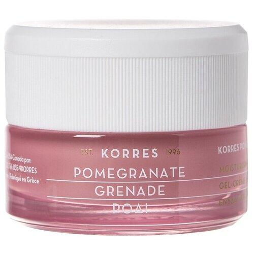 KORRES Pomegranate Moisturising Cream-Gel Увлажняющий крем-гель для лица для жирной и комбинированной кожи, 40 мл