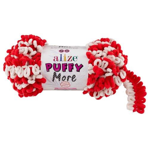 Купить Пряжа Alize Puffy More, 150 г, 11.5 м, 2 шт., 6286