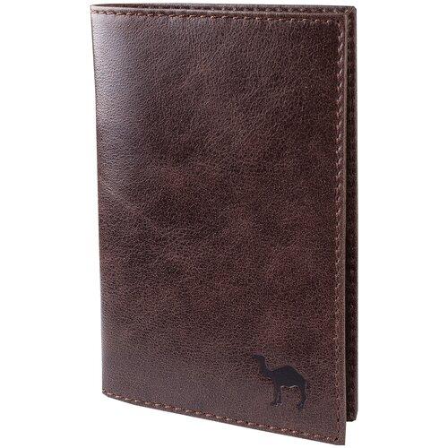 Обложка для паспорта Dimanche Camel, коричневый