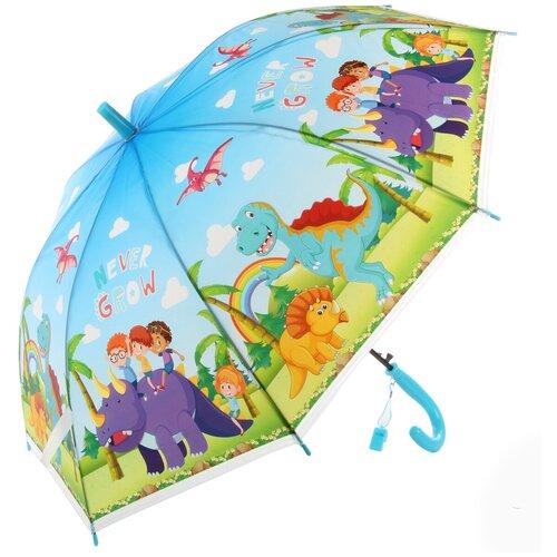 Зонтик детский трость, 66см Amico 118354