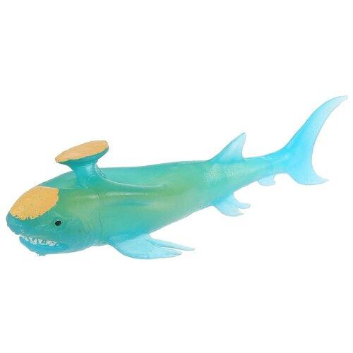 Игрушка-мялка Играем вместе Стетакант акула W6328-383T-R голубой