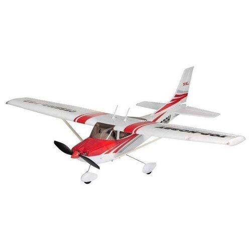 Купить Самолет Top RC Hobby Cessna 182 400 RTF (top003C) 79 см красный, Радиоуправляемые игрушки