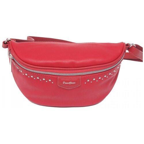 сумка на пояс женская dimanche регби цвет черный 231 1f Женская сумка на пояс экокожа(искусственная кожа) David Jones 522755