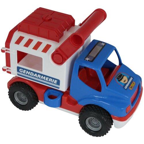 Фургон Wader КонсТрак Жандармерия (46536), 24.5 см, синий/белый/красный фургон wader спасательная команда 0537 24 см