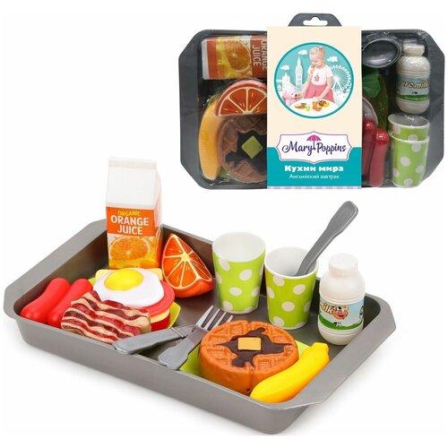 набор продуктов с посудой mary Набор продуктов с посудой Mary Poppins Английский завтрак 453187 в ассортименте