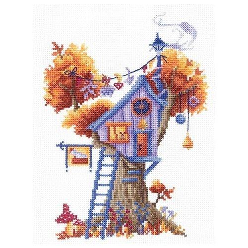 Купить Набор для вышивания Сделай своими руками серия: Дома на деревьях, Загадочный , 13*18 см (72931055874), Наборы для вышивания