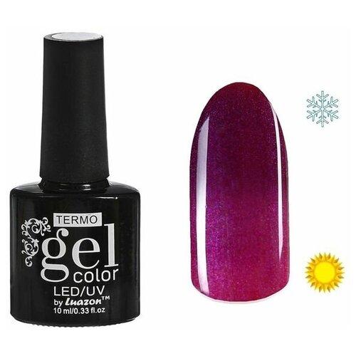Фото - Гель-лак для ногтей Luazon Gel color Termo, 10 мл, А2-076 пурпурный перламутровый гель лак для ногтей luazon gel color termo 10 мл а2 076 пурпурный перламутровый