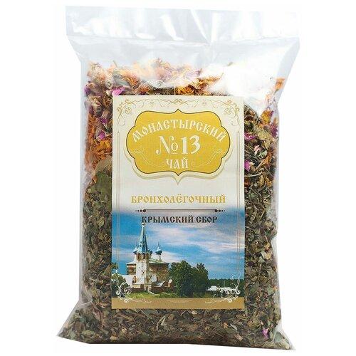 Чай травяной Крымский чай Монастырский № 13 Бронхолёгочный, 100 г