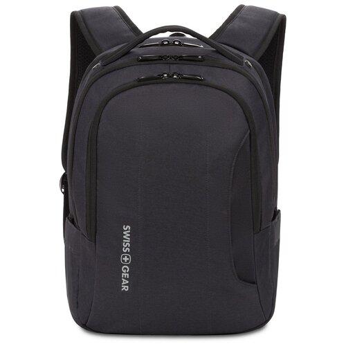 Фото - Рюкзак SWISSGEAR, черный, полиэстер, 29 х 15 х 42,5 см, 18,5 л Swissgear MR-SAB54016195043 рюкзак swissgear 32x15x46 см 22 л черный