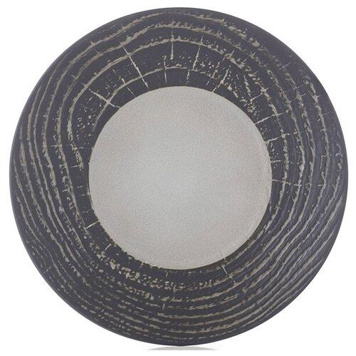 Тарелка мелкая «Арборесценс» цвет лакрицы D=28 см REVOL