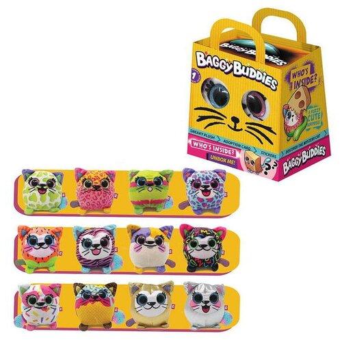 Котики Baggy Buddies (мягконабивные), 8 см, 12 шт в ассортименте, 12 шт в картонном дисплее
