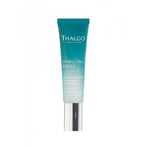 Купить Thalgo Spiruline Boost Energising Detoxifying Serum Энергизирующая детокс сыворотка для лица и шеи, 30 мл