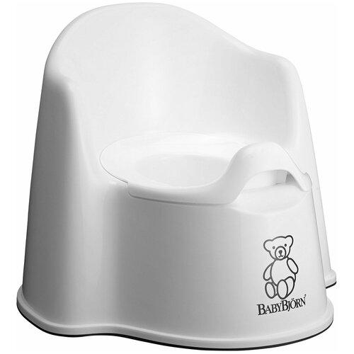 BabyBjorn Кресло-горшок белый babybjorn горшок smart светло розовый