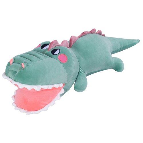 Мягкая игрушка 90см Детская игрушка в подарок / Плюшевая игрушка для детей Крокодил (Зеленый)