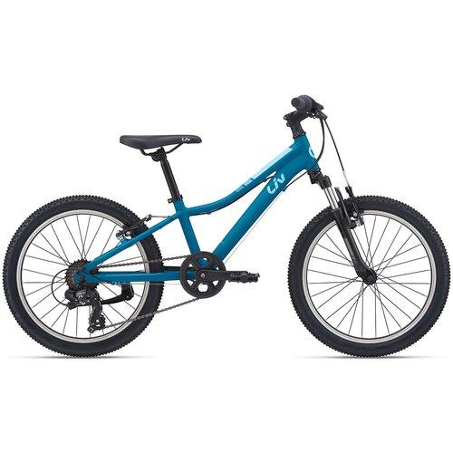 Детский велосипед Giant Enchant 20 (2021) blue (требует финальной сборки)