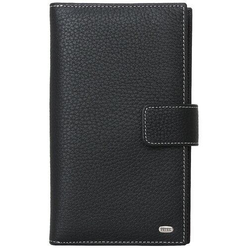 Бумажник путешественника Petek 1855 2394.46D.KD1 Black