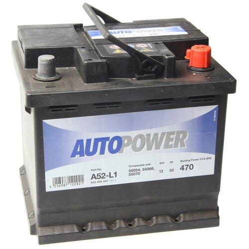 Автомобильный аккумулятор Autopower A52-L1