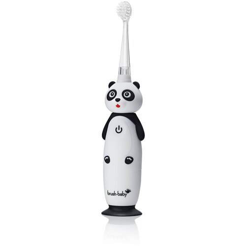 Brush-Baby Sonic WildOnes звуковая зубная щетка Панда 0-10 лет brush baby kidzsonic звуковая зубная щетка ракета от 3 лет