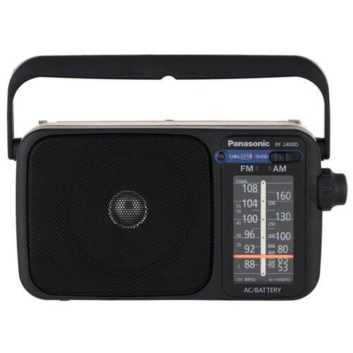 Радиоприемник Panasonic RF-2400DEE-K черный