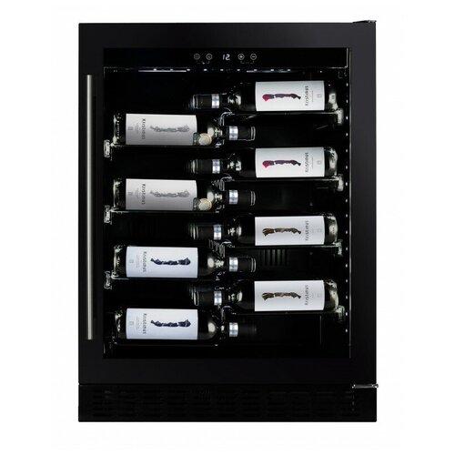 Фото - Dunavox DAU-40.138B винный шкаф 81 л на 32 бутылки монотемпературный серый dau 32 81ss dunavox