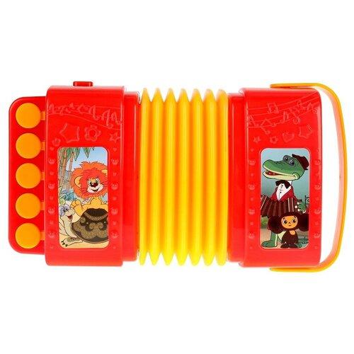 Фото - Умка аккордеон HT805-R красный/желтый игрушка для ванной умка бегемотик b1410463 r красный желтый зеленый