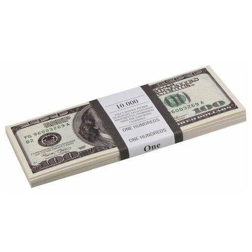 Филькина Грамота Билеты банка приколов 100 долларов, зеленый