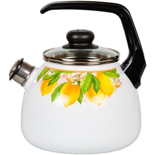 Чайник со свистком 2,0л Limon