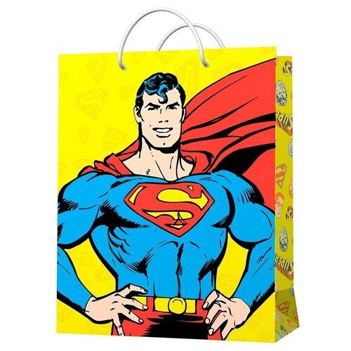 Фото - Пакет подарочный ND Play Superman 33 х 45.5 х 10 см желтый пакет подарочный nd play lol 25 х 35 х 10 см мятный розовый
