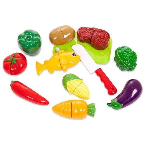 Фото - Набор продуктов ABtoys Помогаю маме PT-01345 зеленый набор продуктов с посудой abtoys помогаю маме pt 00395 разноцветный