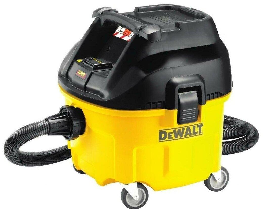 Профессиональный пылесос DeWALT DWV901L, 1400 Вт — купить по выгодной цене на Яндекс.Маркете