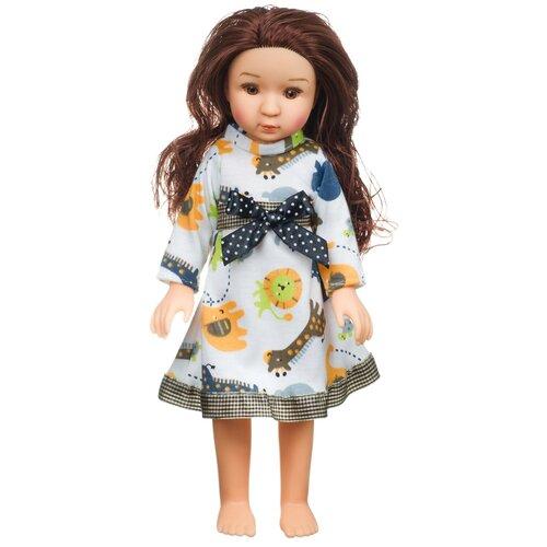 Купить Кукла BONDIBON Oly Очарование Шатенка в белом платье, 36 см, ВВ4365, Куклы и пупсы