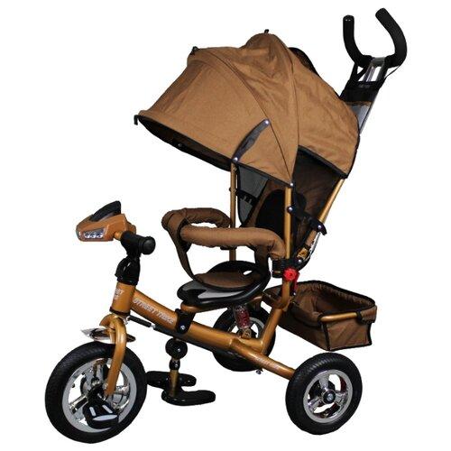 Купить Трехколесный велосипед Street trike A-03-E, бежевый, Трехколесные велосипеды