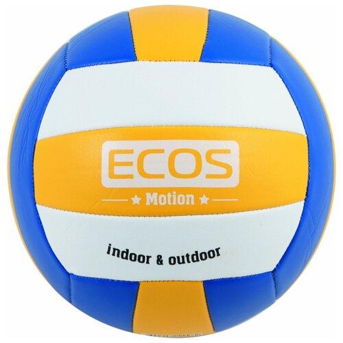 Волейбольный мяч ECOS Motion VB103 разноцветный