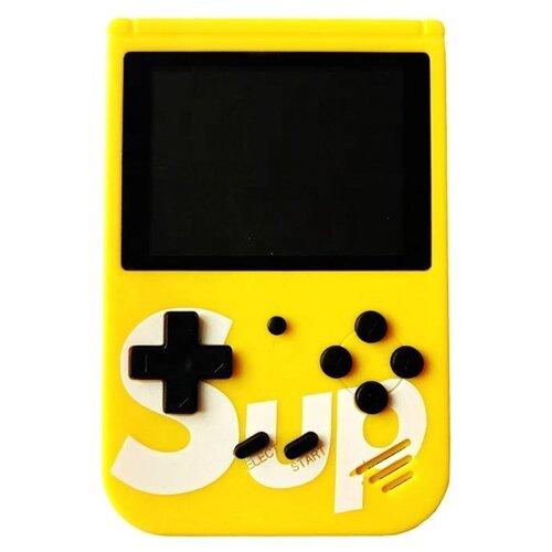 Игровая приставка Palmexx SUP Game Box 400 in 1 желтый