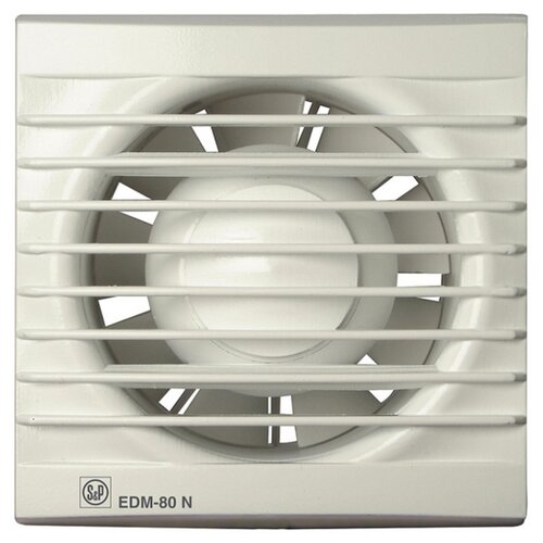 Вытяжной вентилятор Soler & Palau EDM-80 NT, белый 9 Вт palau toys доктор 9 9 элементов